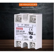 High quality single phase solid state relay SSR-40 DA