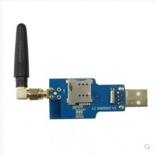 USB to GSM serial port GPRS SIM800C module with Bluetooth computer control to make calls