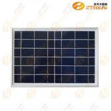 High-efficiency polysilicon 6V10W solar panel DIY mobile phone charging