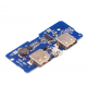 18650 battery 3.7V to 5V2A boost module DIY charging treasure / mobile power motherboard / circuit board