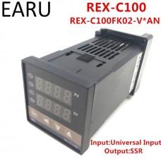 RKC thermostat REX-C100FK02-V*AN high precision intelligent temperature controller