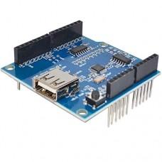 USB Host Shield for Arduino UNO MEGA 2560 Support Google Android ADK USB HUB