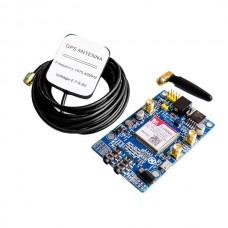 SIM808 module development board GSMGPRSGPS positioning SMS development board to send STM32.51 program