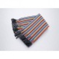 40pcs in Row Dupont Cable 20cm 2.54mm female
